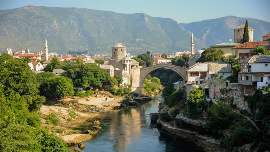 Историческият мост в Мостар