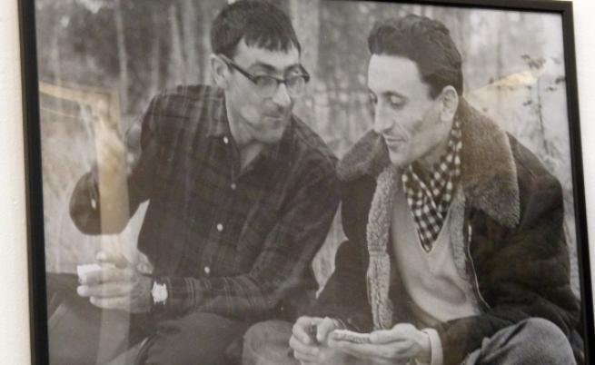 Йордан Радичков по време на пътуването му до Сибир