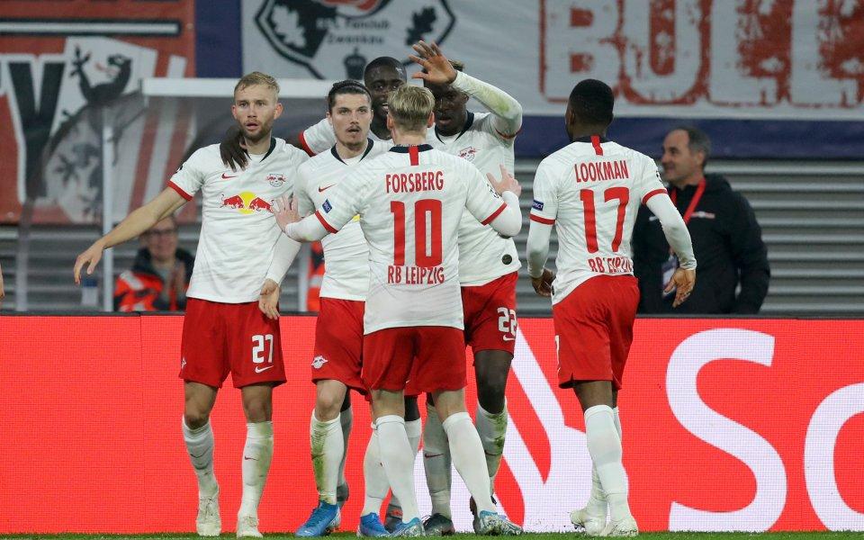 Отборът на РБ Лайпциг постигна ценна победа с 2:1 срещу