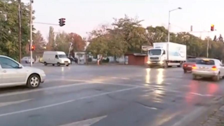 Близки на жертва в София търсят избягал убиец на пътя