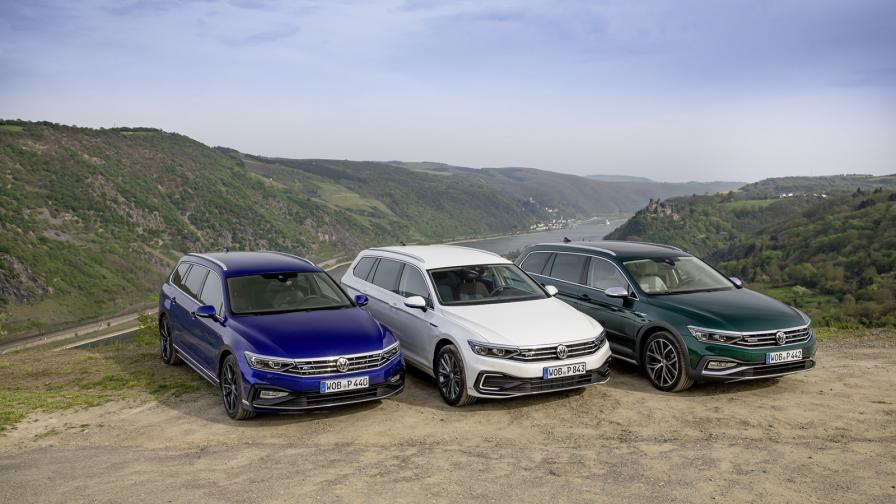 <p>Осем варианта на задвижване за новия VW Passat</p>