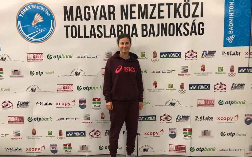 Линда Зечири стигна до 1/4-финал в Унгария