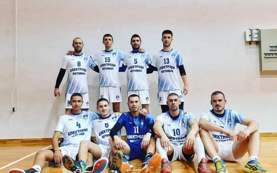 ВК Ботев Ихтиман пречупи Етрополе за първа победа във Висшата лига