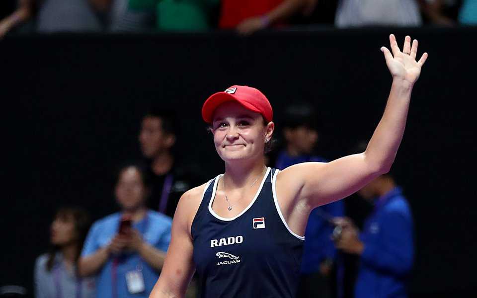Ашли Барти е новата шампионка на финалите на WTA, след