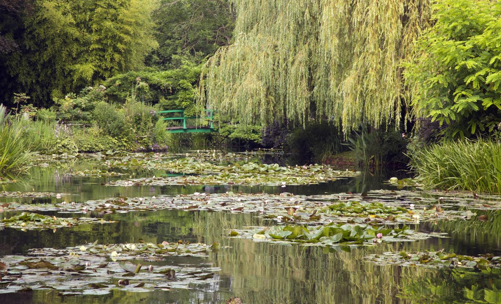 <p>Градините на Клод Моне</p>