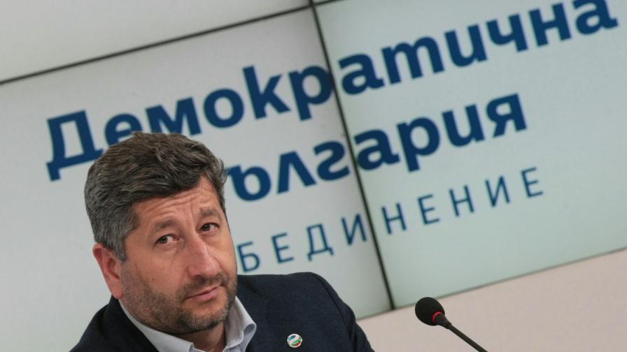 Христо Иванов, Демократична България
