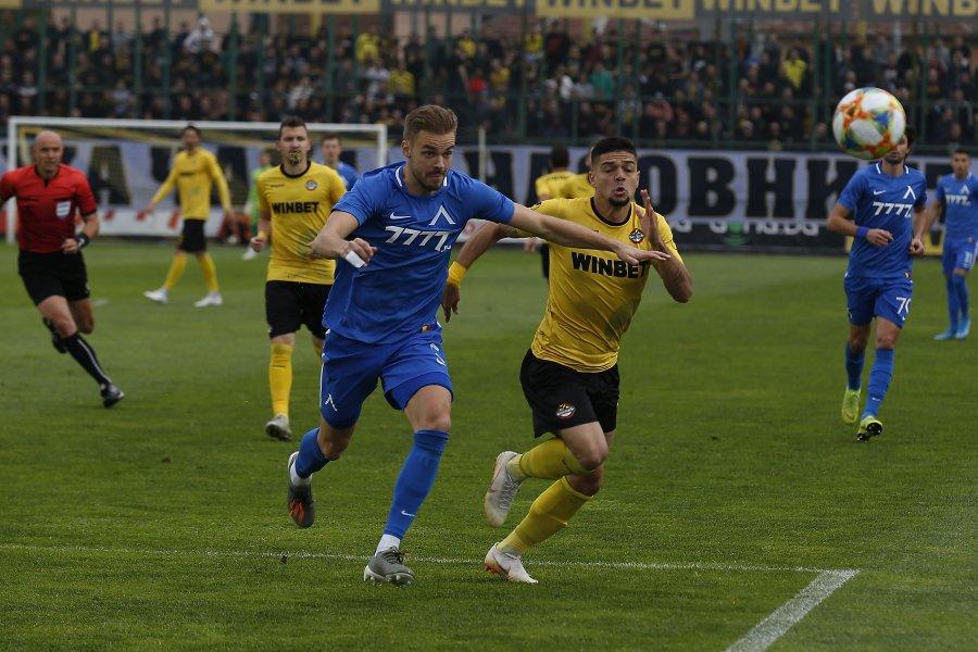 Ботев, чрез юноша на ЦСКА, препарира Левски в Пловдив - БГ Футбол - efbet  Лига - Gong.bg