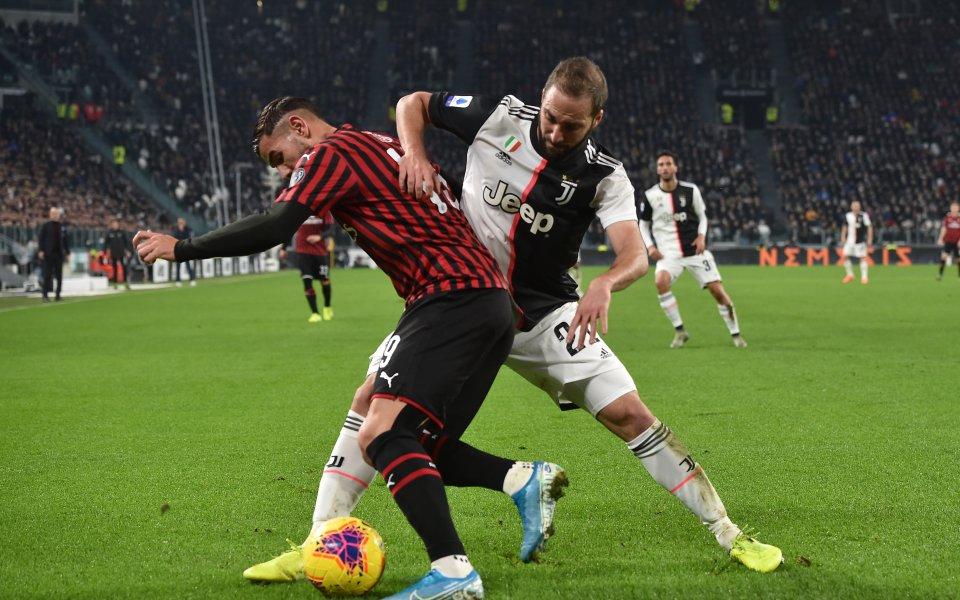 Отборите на Ювентус и Милан се изправят в голямото дерби