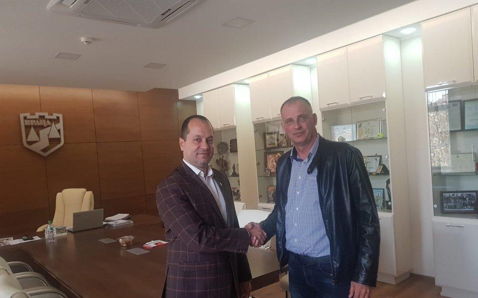 Отборът на Ботев Враца има нов треньор и това е