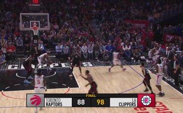 Акцентите от НБА от изминалата нощ