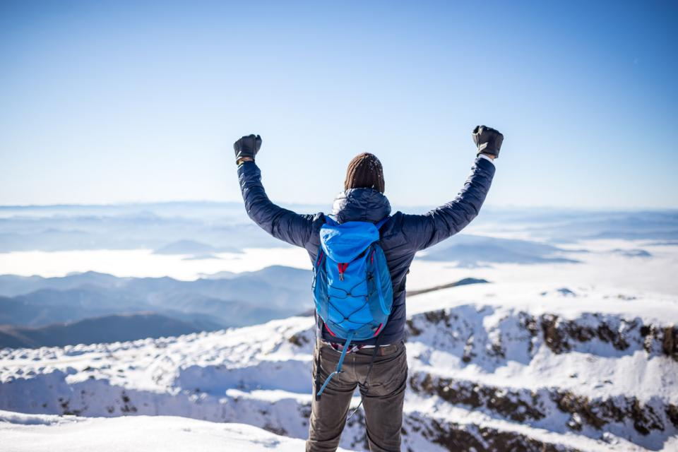 планина планинар изкачване