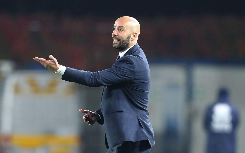 Старши треньорът на Емполи Кристиан Бучи (на снимката) бе уволнен