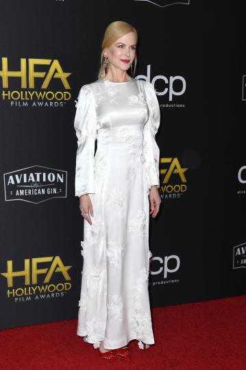 <p>Никол Кидман по време на Холивудските филмови награди</p>