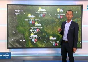 Прогноза за времето (12.11.2019 - обедна емисия)