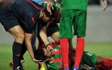 Съдия, оказвал първа помощ на терена, ще свири България - Парагвай
