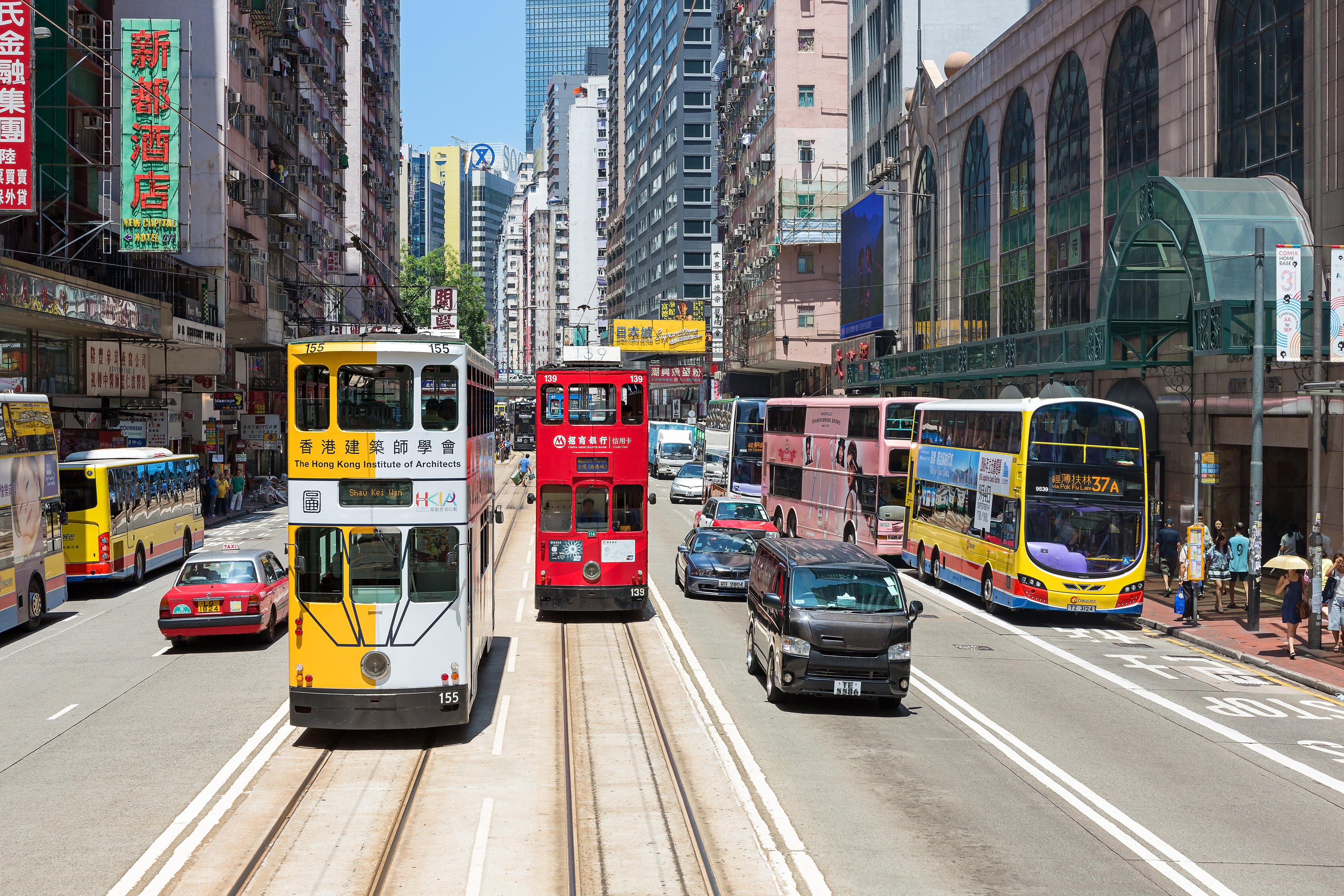 <p>Най-скъпата търговска улица в света за поредна година е Causeway Bay в Хонконг с месечен наем равен на 2164 евро/кв. м.</p>