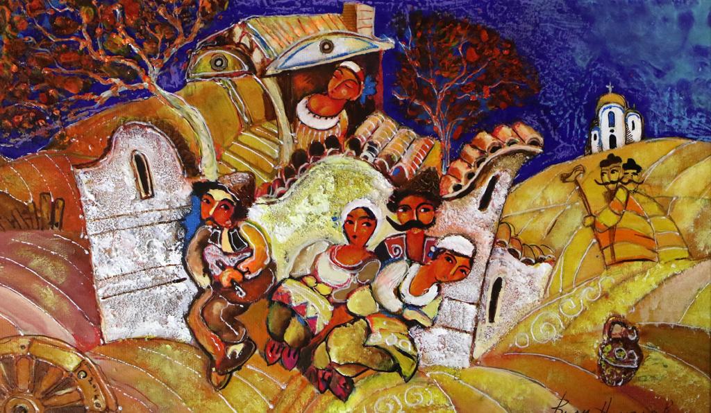 <p>Седянка</p>  <p>Изложбата живопис на Вили Николов, може да посетите до 3 декември 2019 г. в галерия &quot;Лик&quot; на ул. &bdquo;Лайош Кошут&ldquo; 37, София</p>