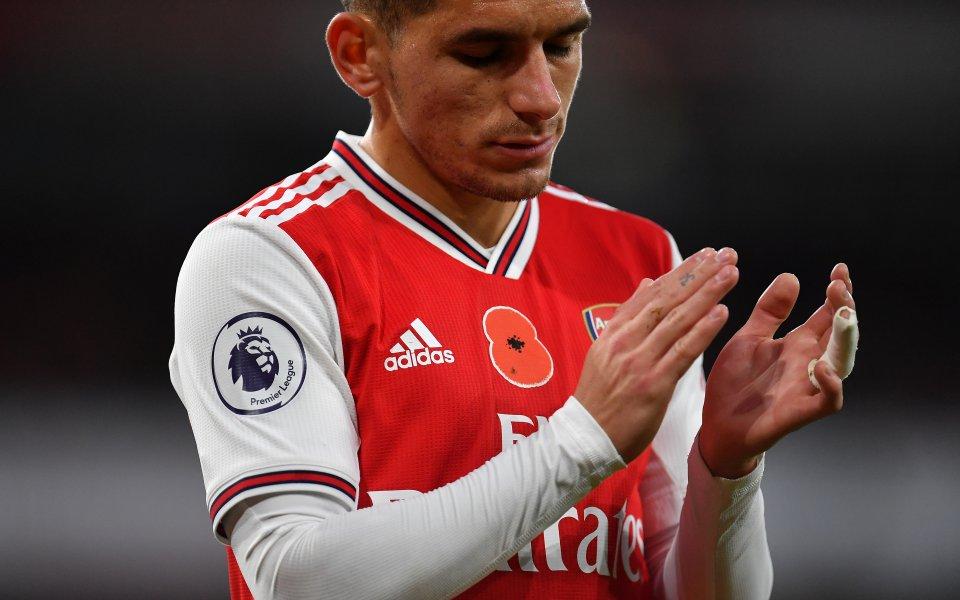 Полузащитникът на Арсенал Лукас Торейра е изразил желанието си пред