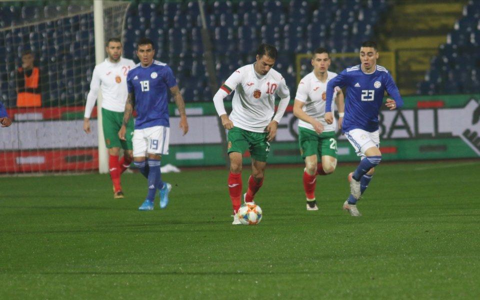 България загуби от Парагвай с 0:1 в контролна среща играна