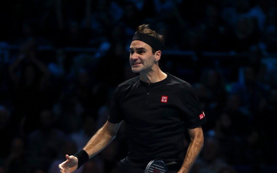 Роджър Федерер взе ключова победа над Новак Джокович с убедителното