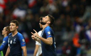 Мързелива Франция стигна ходом до Евро 2020