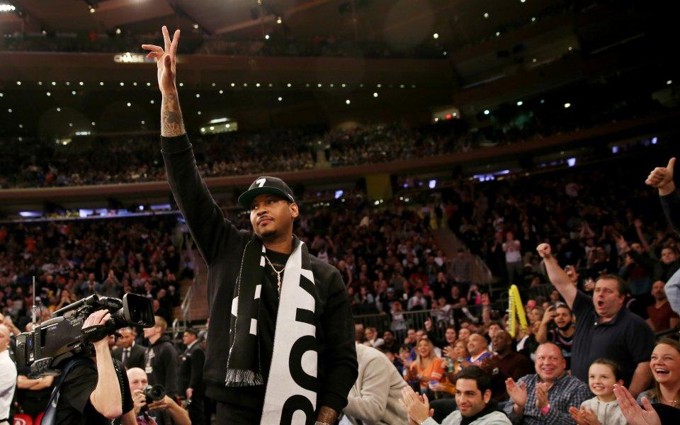 Кармело Антъни се завръща в НБА. 35-годишният ветеран ще се