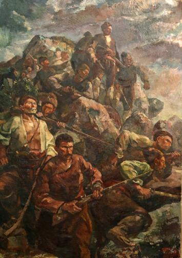 Художник на героични образи Симеон Халачев