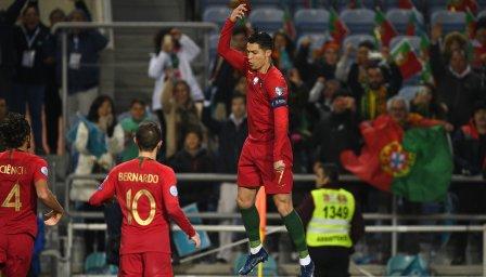 ТОП 5 на най-добрите голове на Роналдо с Португалия
