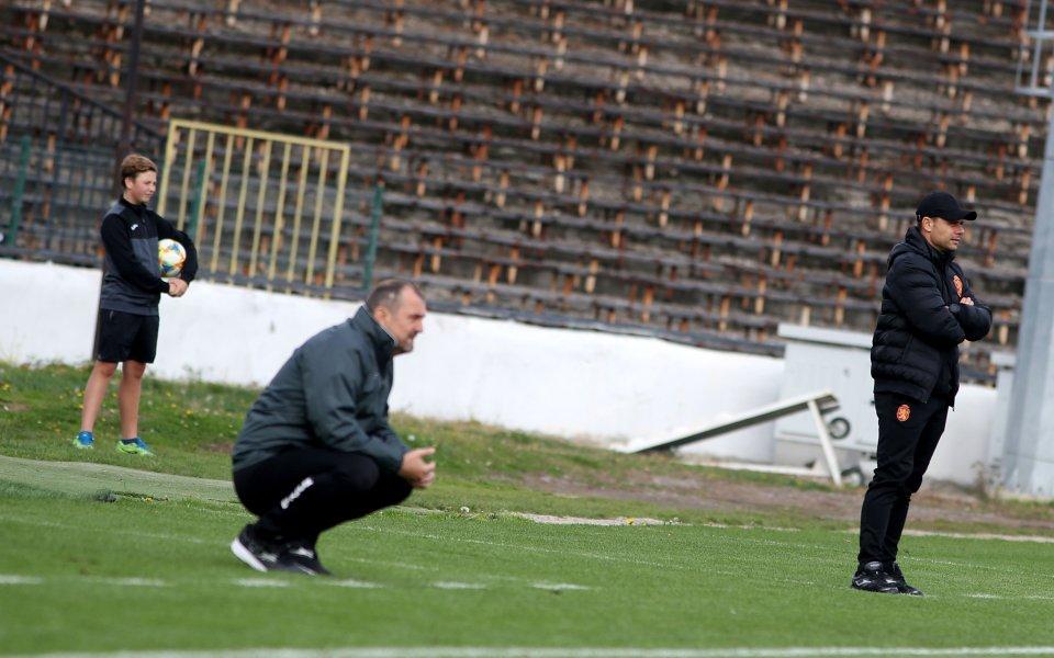 Треньорът на Славия Златомир Загорчич похвали играчите си за представянето