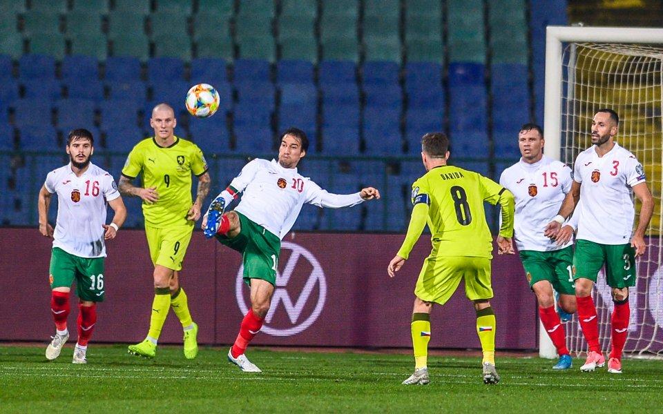 Чешкият национал Якуб Янкто коментира загубата на тима си от
