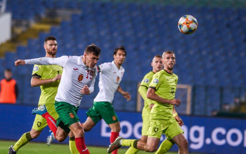 Националният отбор ще играе контрола с Беларус в началото на