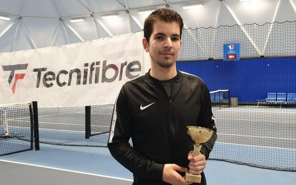 Любен Попов записа уникално представяне в историята на Интерактив тенис,