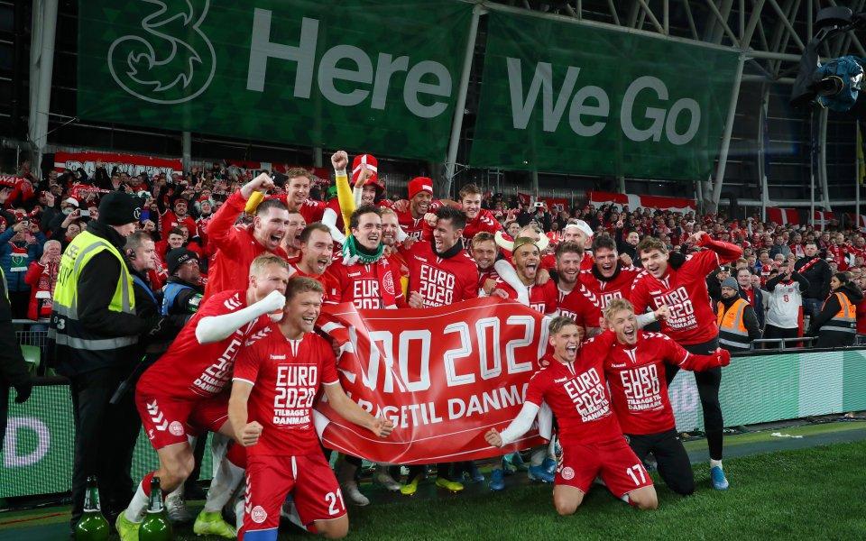 Дания се класира за Евро 2020 след драматична битка с