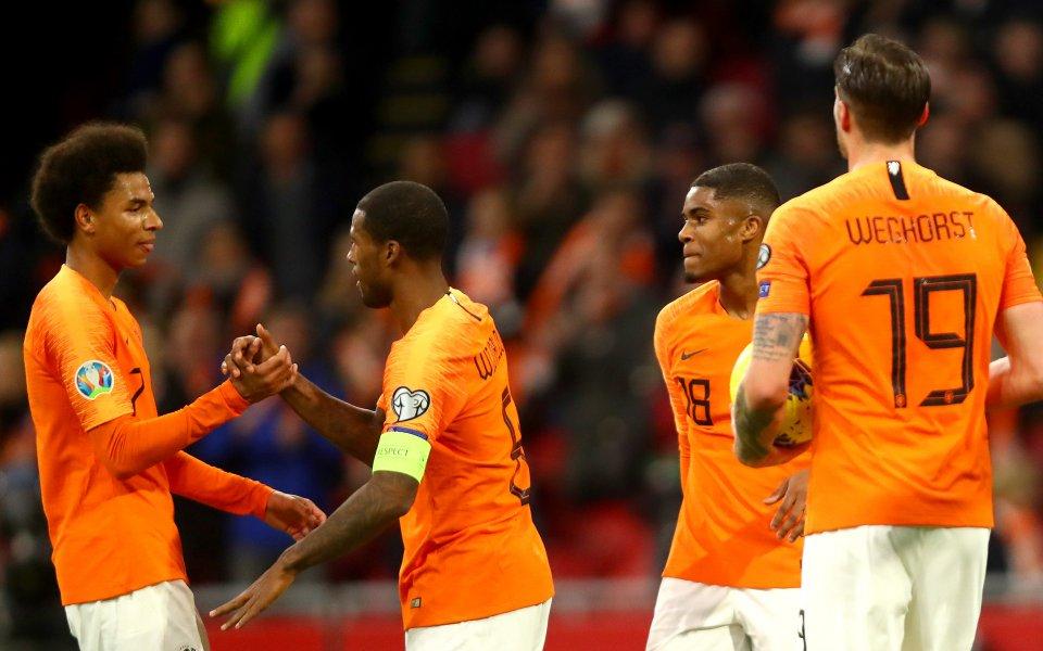 Отборът на Холандия не срещна трудности в последната си евроквалификация