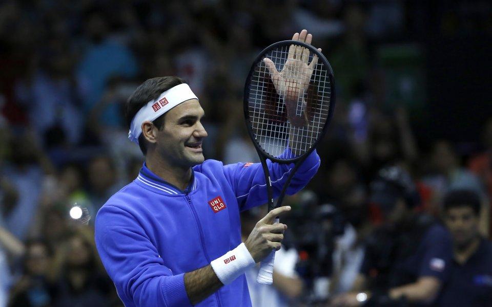 Роджър Федерер разкри, че в момента изобщо не мисли да