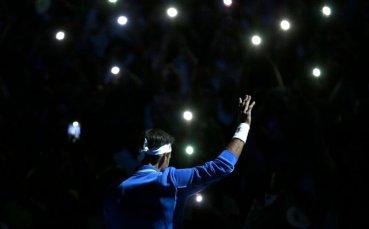 Федерер победи Зверев в демонстративен мач