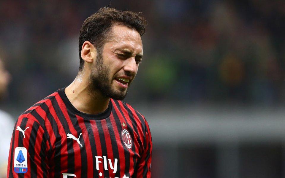 Футболистът на Милан Хакан Чалханоглу заяви, че ако се появи