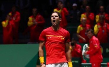 Надал поведе Испания напред за Купа Дейвис