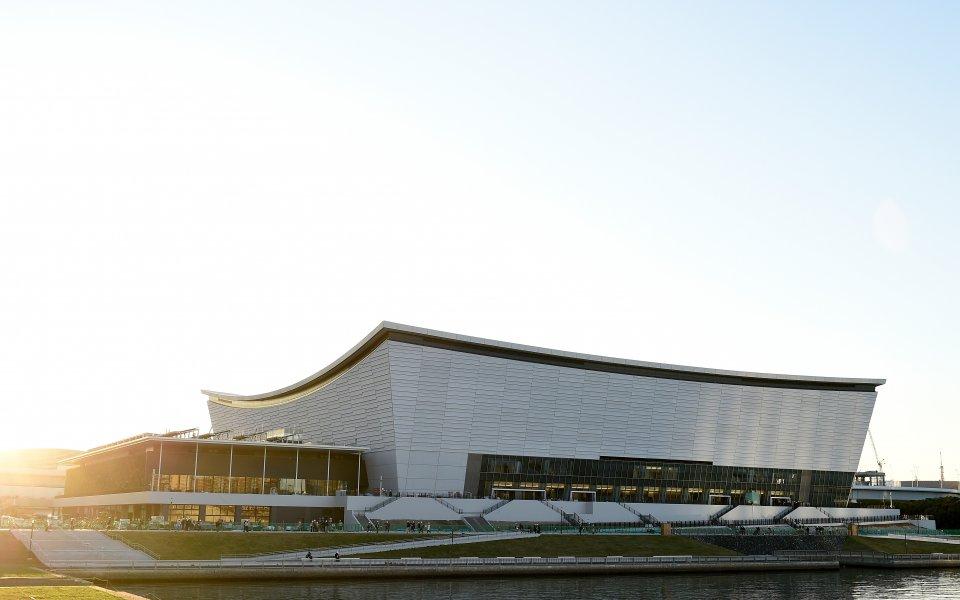 Спортните съоръжения за Олимпийските игри в Токио следващото лято са