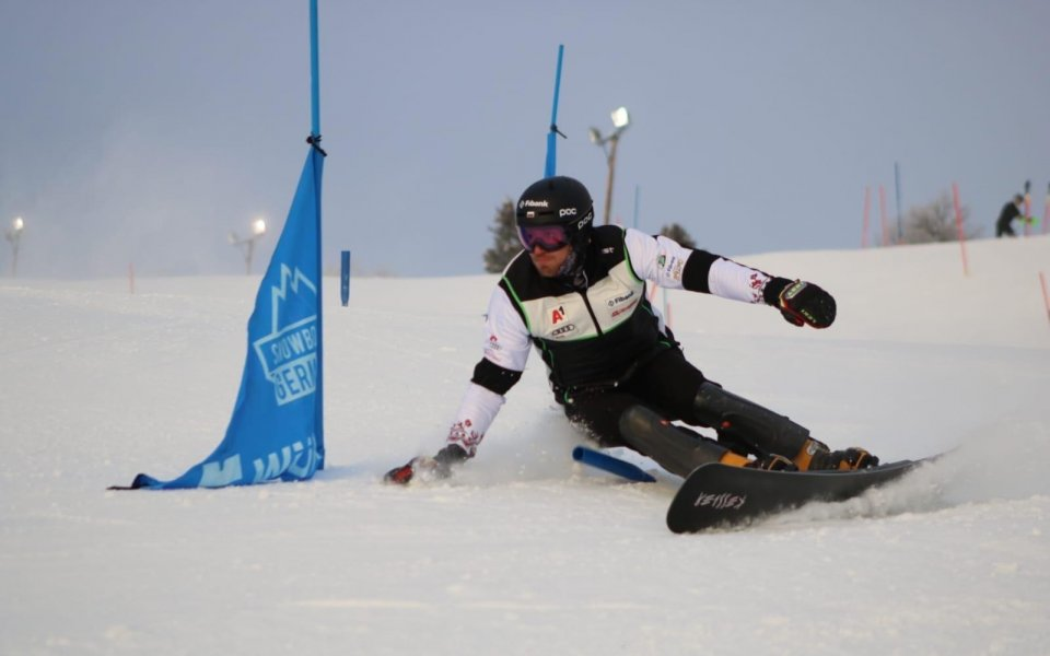 Най-добрият български сноубордист - Радослав Янков в момента провеждапоследния си