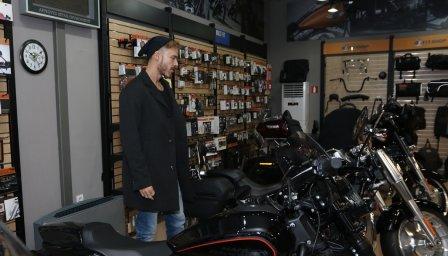 Harley-Davidson влиза в български филм