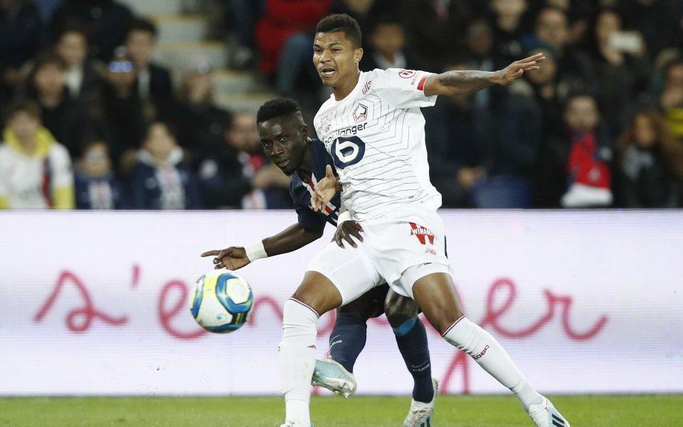 Лил измъкна победата срещу гостуващия Монпелие с гол 6 минути