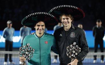 Александър Зверев: Федерер сбъдна мечтата ми