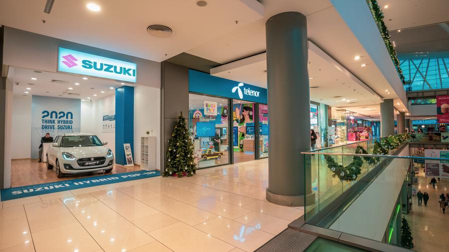 """Преди """"черния петък"""": Suzuki продава коли в МОЛ-а"""