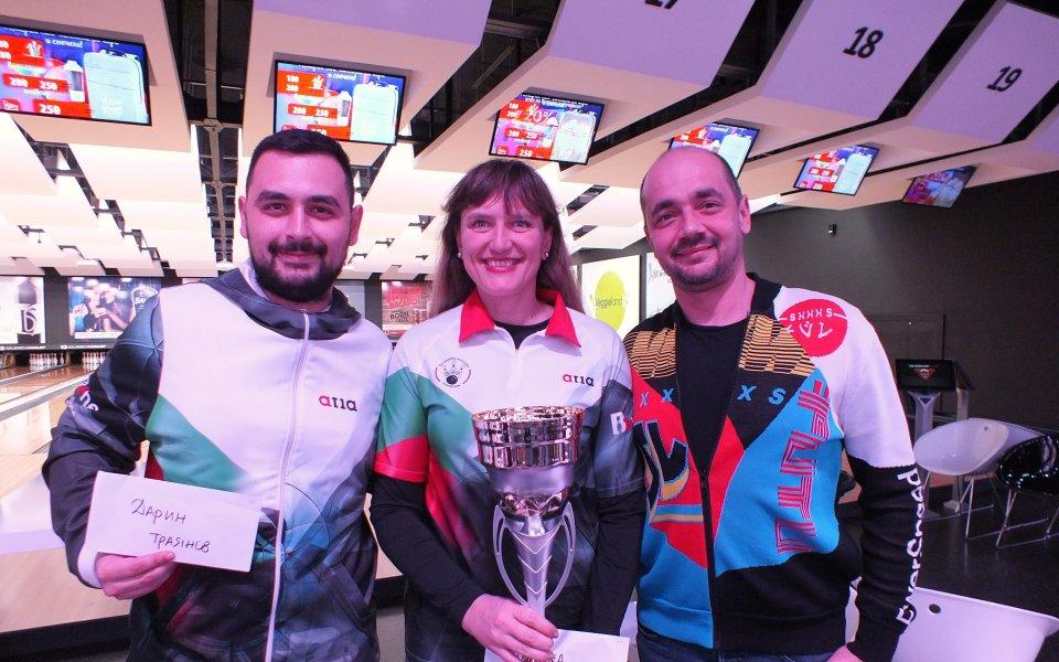 Марина Стефанова взе титлата от Националния боулинг турнир