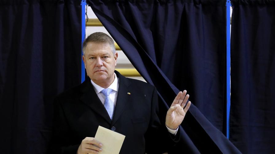Клаус Йоханис, Румъния