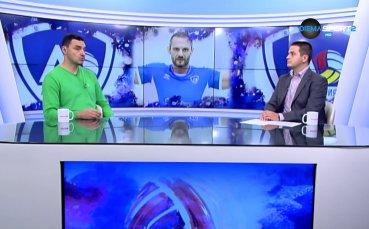 Владо Николов за сезона на ВК Левски