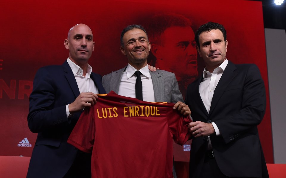 Новият селекционер на Испания Луис Енрике разкри отношенията си с