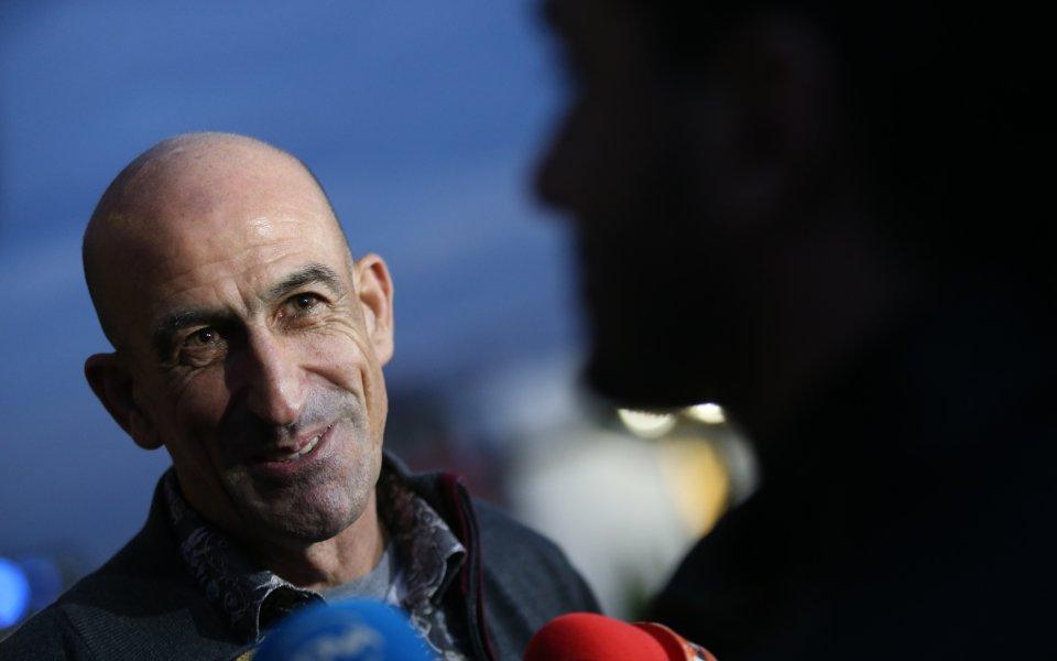 Футболната легенда и бивш вицепрезидент на Българския футболен съюз Йордан