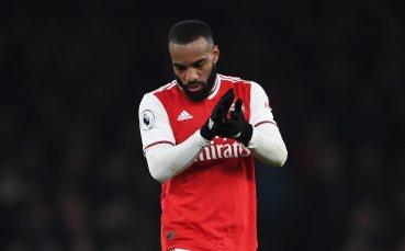 Лаказет отрече, че ще напуска Арсенал след края на сезона